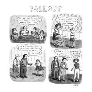 Fallout - New Yorker Cartoon by Roz Chast