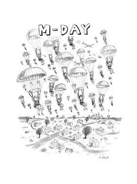 'M-Day' - New Yorker Cartoon by Roz Chast