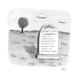 New Yorker Cartoon by Roz Chast