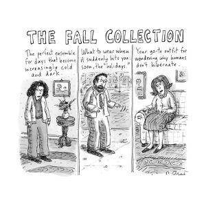 The Fall Collection - New Yorker Cartoon by Roz Chast
