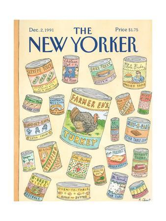 The New Yorker Cover - December 2, 1991
