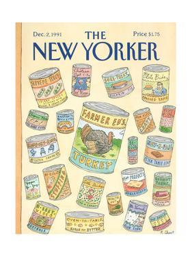 The New Yorker Cover - December 2, 1991 by Roz Chast