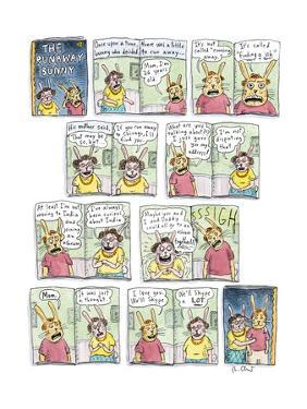 The Runaway Bunny - New Yorker Cartoon by Roz Chast