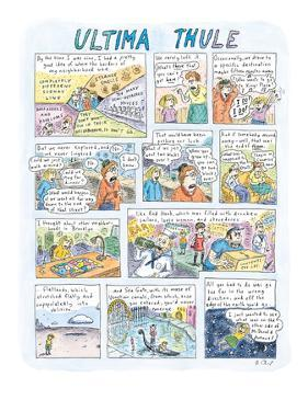 Ultima Thule - New Yorker Cartoon by Roz Chast