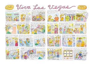 Viva Las Vegas - New Yorker Cartoon by Roz Chast