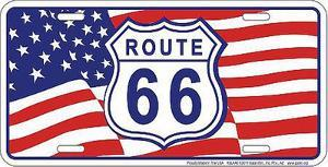 Rt 66 Us Flag