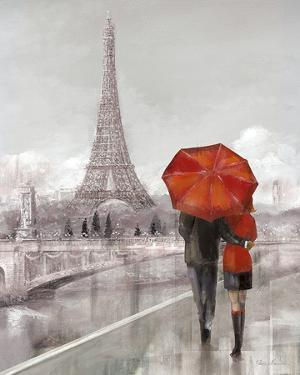 Couple in Paris by Ruane Manning