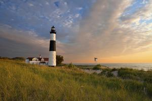 Big Sable Point Lighthouse. by rudi1976