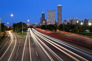 Chicago Lake Shore Drive. by rudi1976