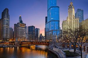 Chicago Riverside. by rudi1976