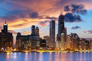 Chicago Skyline by rudi1976