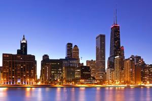 Chicago Skyline by rudi1976