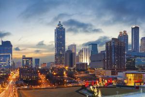City of Atlanta. by rudi1976