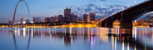 City of St. Louis Skyline. by rudi1976