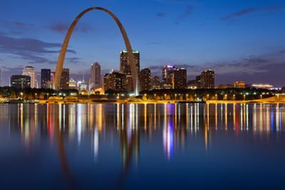 City of St. Louis Skyline. by rudi1976