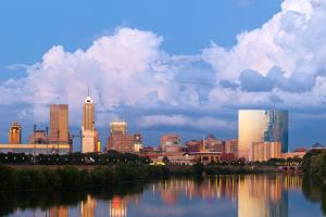 Indianapolis Skyline. by rudi1976