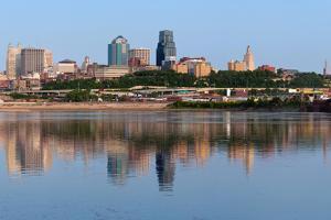 Kansas City Skyline Panorama. by rudi1976