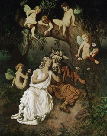 Titania in the Grip of her Fantastic Delusion by Rudolf Carl Huber