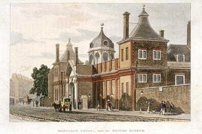 British Museum, Holborn, London, C1810