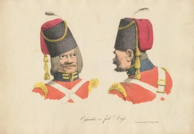 The Cossack Uniform, 1820