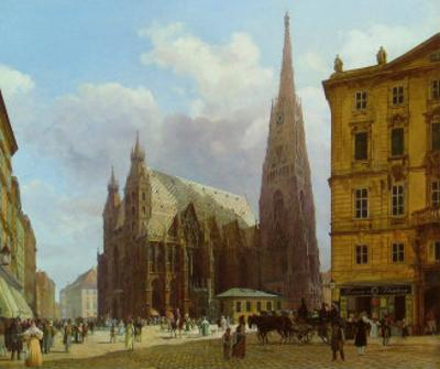 The Stephansplatz, c.1834