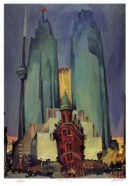 Flatiron Building by Rudolph Stussi