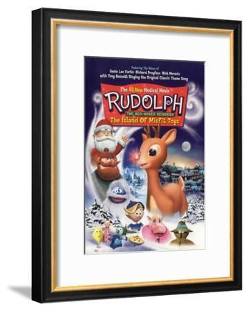 Rudolph the Red-Nosed Reindeer & the Island of Misfit Toys--Framed Masterprint