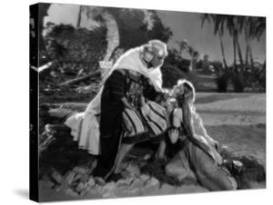 """Rudolph Valentino; Agnes Ayres. """"The Son of the Sheik"""" [1926], Directed by George Fitzmaurice."""