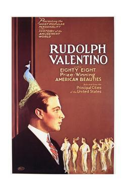 Rudolph Valentino - Movie Poster Reproduction