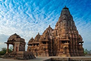 Kandariya Mahadeva Temple, Khajuraho, India, Unesco Heritage Site. by Rudra Narayan Mitra