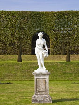 Statue in the Garden at Hampton Court Palace by Rudy Sulgan