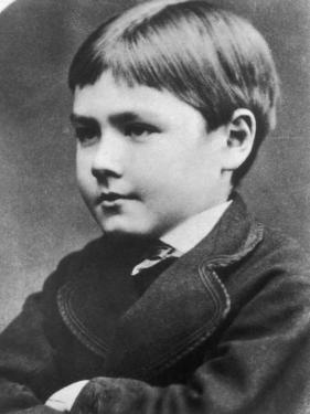 Rudyard Kipling English Writer as a Boy