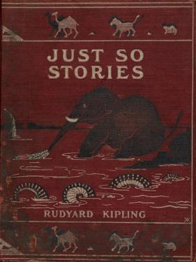 Illustrated Front Cover Showing an Elephant by Rudyard Kipling