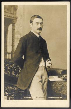 Rudyard Kipling Photograph Taken in 1904