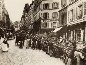 Rue Lepic, Montmartre, Paris, 1880