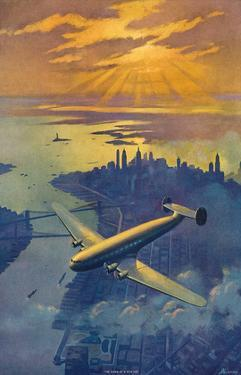 Dawn of a New Day c.1930s by Ruehl Heckman