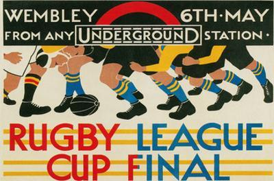 Rugby League Cup Final at Wembley