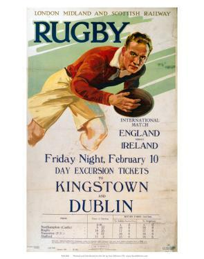 Rugby, LMS, c.1928