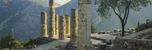 Ruined Columns, Temple of Apollo, Delphi, Greece