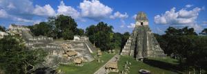 Ruins of an Old Temple, Tikal, Guatemala