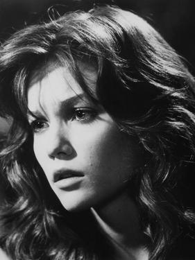 RUMBLE FISH, 1983 directed by FRANCIS FORD COPPOLA Diane Lane (b/w photo)