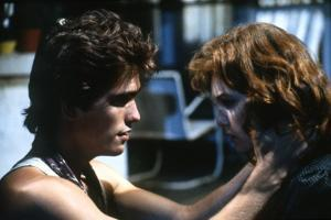 RUMBLE FISH, 1983 directed by FRANCIS FORD COPPOLA Matt Dillon and Diane Lane (photo)