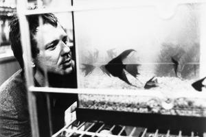 RUMBLE FISH, 1983 directed by FRANCIS FORD COPPOLA Mickey Rourke (b/w photo)