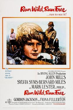 Run Wild, Run Free, from Left: Sylvia Syms, Mark Lester, John Mills, Fiona Fullerton, 1969