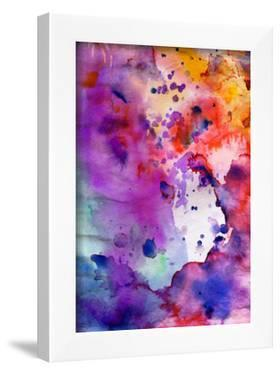 Abstract Grunge Texture With Paint Splatter by run4it