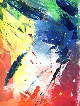 Abstract Painting With Expressive Brush Strokes by run4it