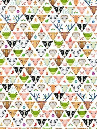 Christmas pattern, 2016 by Runa Anastasiya Rudaya