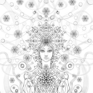 Snowmaid 4 Coloring by RUNA