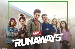 RUNAWAYS - TV ONE SHEET