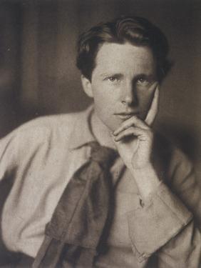 Rupert Brooke English Writer, in 1913